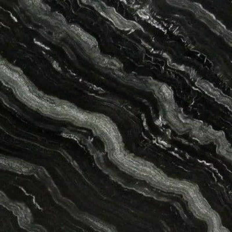 אבן גרניט דגם - black river - מוקטנת